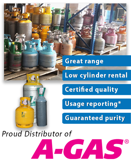 Click to view our range of refrigerant