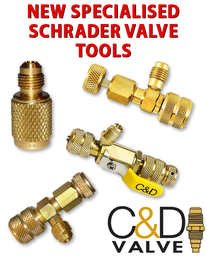 New C&D Valves