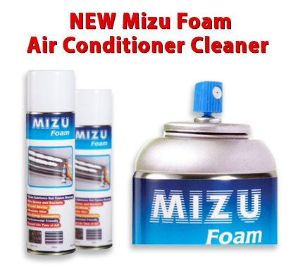 Cleaner Air Conditioner 500ml Mizu Foam