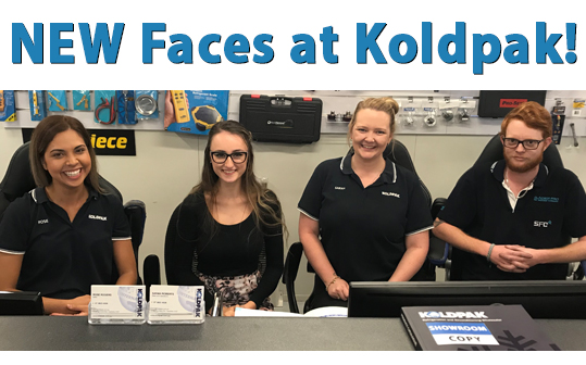 New Faces at Koldpak