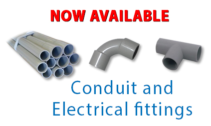 Electrical Fittings and Conduit